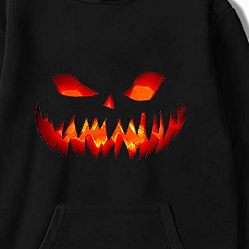 Lemooner męska bluza z kapturem z długim rękawem z nadrukiem dyni, na Halloween, imprezę, męska bluza z nadrukiem cyfrowym, okrągły dekolt, swobodna, ciepła, na jesień, sweter z r&