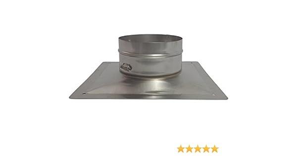 Stainless Steel Forever Vent FL525SSK 5-Inch x 25-Feet Single Ply Chimney Liner