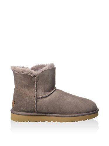 Femme W's Mini Taupe Boots Button Bailey Button Ugg qOfx4vTx