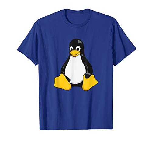 Linux Mascot Tux the Penguin 3D T-Shirt Gift Men Women Kids