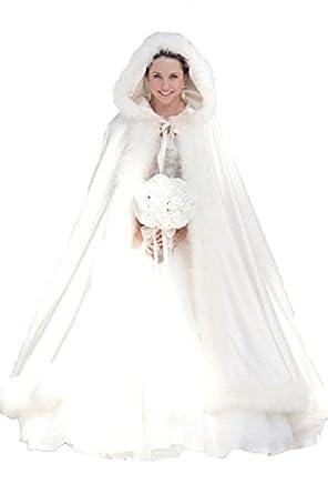 Winter Women Wraps Cape Faux Fur Wedding Coat Suit Jacket For Bridal
