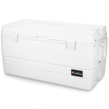 Amazon.com: Igloo Marine 94-quart enfriador, soporta hasta ...