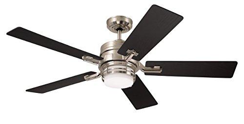 "Emerson CF880LBS Amhurst 54"" Ceiling Fan with LED Lights & R"