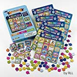 Rite Lite GAC-2-N Chanukah Bingo Game 1 EA Multicolor ()