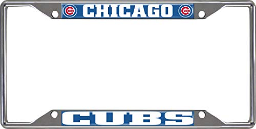 FANMATS MLB - Chicago Cubs License Plate Frame