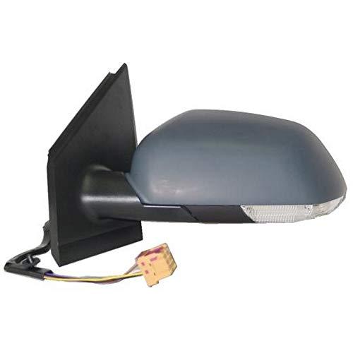 7445609794739 Derb Specchio Specchietto Retrovisore Dx Destro Lato Passeggero - Calotta Da Verniciare Elettrico - Termico - Con Fanale