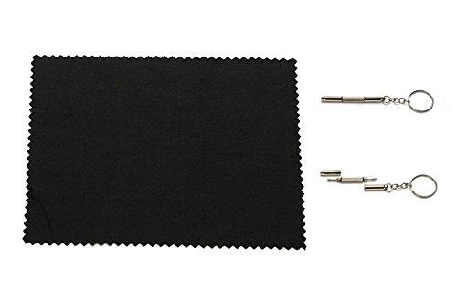 Embryform Tendance des sauvages lunettes monture ronde Piano Black