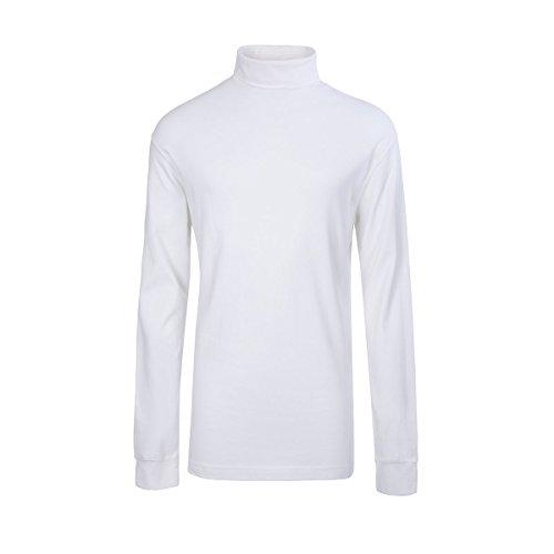 Meister Men's Cotton/Blend Roll Neck Turtleneck Top, Medium, ()
