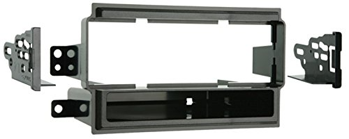 (Metra 99-7405 Single DIN Installation Kit for 2004-2008 Nissan Titan (Base Model Only) (Black))