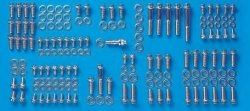 ARP 534-9705 Engine & Accessory Fastener Kit (Black Oxide 12-Point) Chevrolet All Models