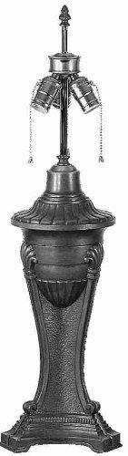 28 Inch Urn Base/3lt Pllchn Clstr Lamp Bases And Fixture ()
