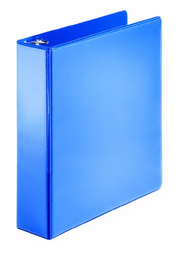 (Cardinal Performer ClearVue Non-Stick Round Ring Binder, 2 Inch Capacity, Letter Size, Blue (67426))
