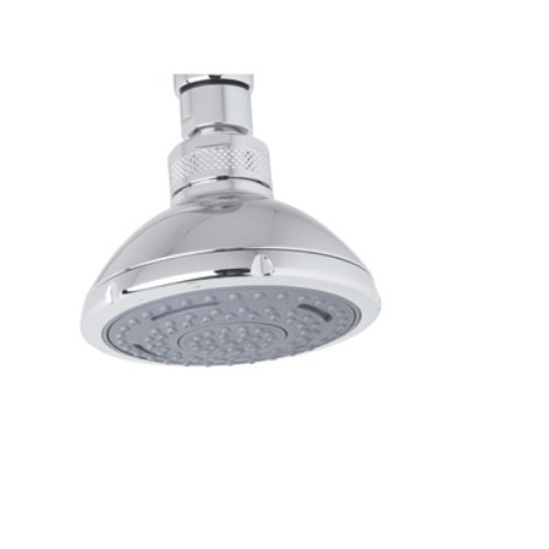 Rohl I00131APC 3-5/8-Inch Diameter Bossini Three Function Sondria Showerhead in Polished Chrome with 1/2-Inch Female Swivel Connection