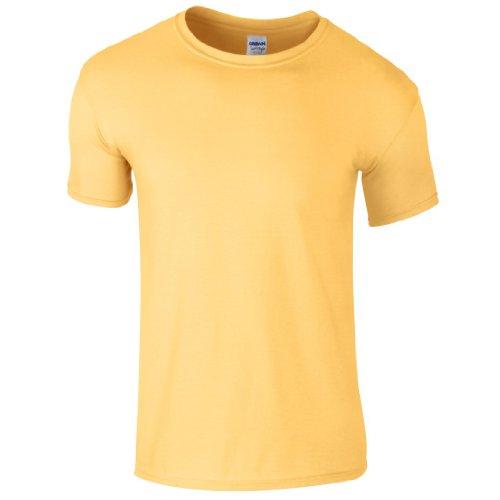 - Gildan Kids Softstyle Ringspun Cotton Short Sleeve T Shirt Daisy 7=M