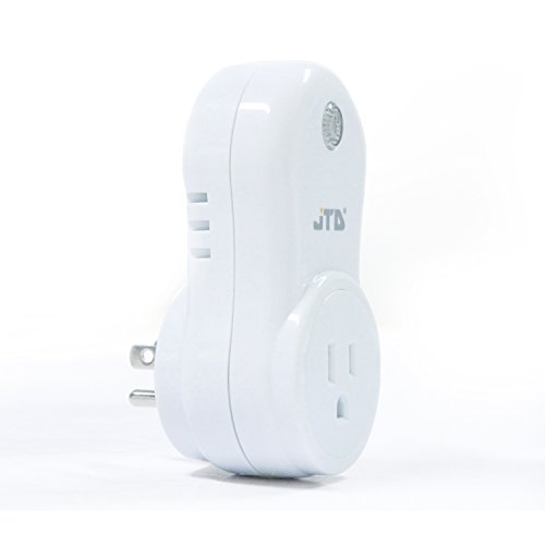 JTD Energy Saving Auto-programmable Wireless Remote Control Electrical Outlet Switch Outlet Plug (1Plug-1Remote Second Gen) by JTD (Image #2)