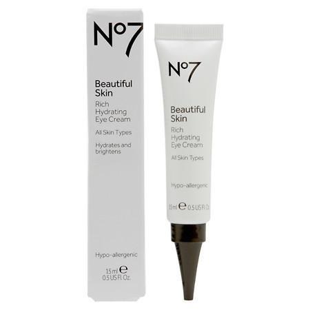 No7 Beautiful Skin Rich Hydrating Eye Cream - 3PC - Rich Hydrating Skin Cream