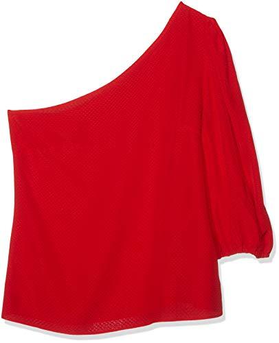 Mujer 001 Para Rojo Sin Promesas Mangas rojo Pv19 2057 Dolores Camiseta 70vTSw