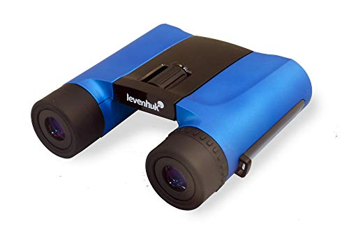 Levenhuk Rainbow 8x25 Blue Wave Binoculars for Traveling, Hiking, Bird Watching, Theater and Sport Events, Ideal for Kids and Adults (Ultra Lightweight - 9.88 oz)