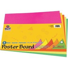 Pacon Peacock Poster Board Sets