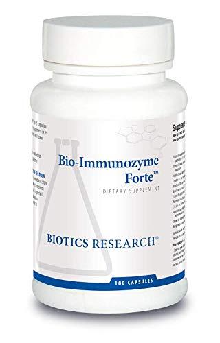 Biotics Research Bio-Immunozyme Forte™ - Multivitamin, Echinacea, Cayenne Pepper, Lactobacillus acidophilus, Botanicals, Probiotics, Amino Acids, Organs/Glandulars for Immune System Health 180tabs