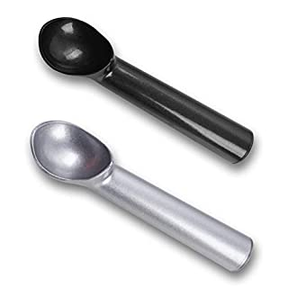 HANSGO Ice Cream Scoop, 2PCS 7 inches Nonstick Anti-Freeze Ice Cream Scooper One Piece Aluminum Design Dishwasher Safe