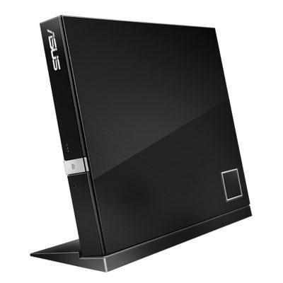 External Slim Blu-Ray Disc Com SBC06D2XUBLKGAS By ASUS