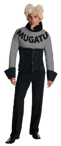 [Mugatu Zoolander Costume, Black, Standard] (Zoolander Derek Zoolander Standard Costumes)