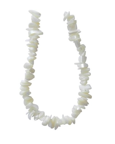 (Tennessee Crafts 4042 Pearls Natural Mother of Pearl Chips 40cm Natural Beads, 8-Inch)