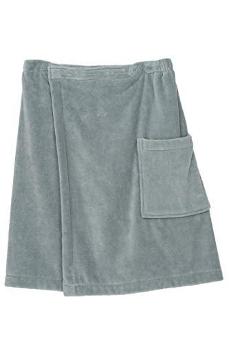 - TowelSelections Men's Wrap, Shower & Bath, Terry Velour Towel Medium/Large Quarry