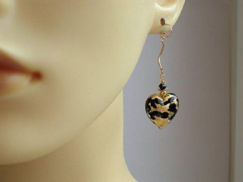 Venetian Gold Animal Print Earrings