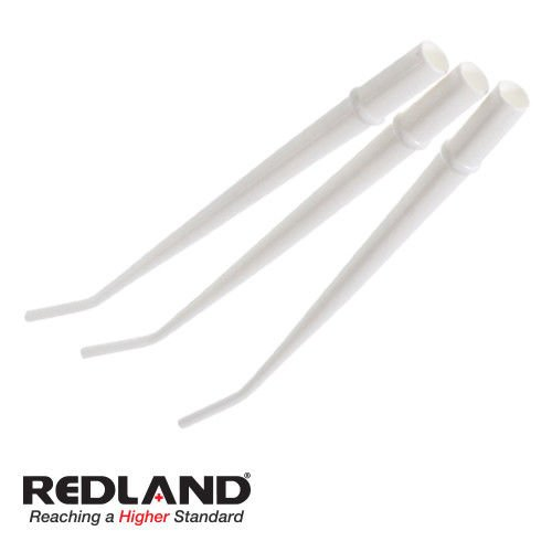 Surgical Aspirator Tips White Autoclavable 1/8'' Diameter 125 Pieces/Pack RED-ST-1021
