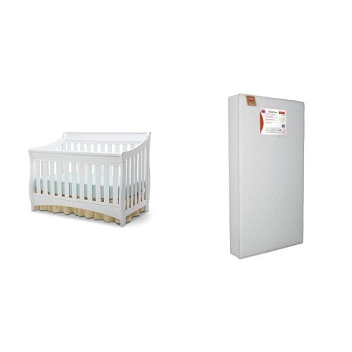 Delta Children Bentley S Series 4-in-1 Crib and Simmons K...
