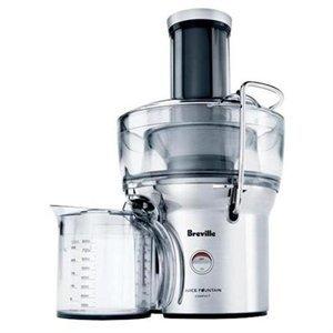 Brevile Bje200xl Compact Juice Fountain 700-watt Juice Extractor