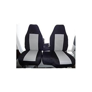 Mazda B2500 H Duty Black Waterproof Car Seat Cover Protectors 2 x Fronts