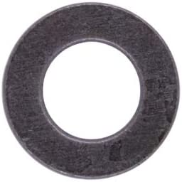100 Pack Steel U-Turn Zinc Plated #4 SAE Flat Washer 5//16 OD