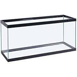 Perfecto Manufacturing APF10370 37-Gallon Aquarium Tank, 30 by 12 by 22-Inch, Black