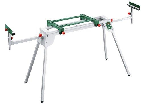 Bosch DIY Untergestell PTA 2400, für Kapp- und Gehrungssäge und Tischbohrmaschine, Karton (Länge mit Verlängerung: 2.440 mm, Länge: 1.220 mm, Höhe: 820 mm)