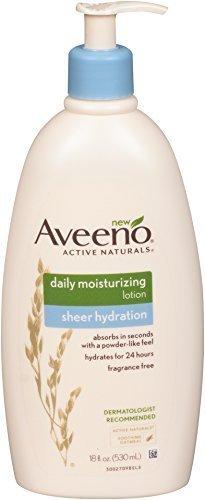 Aveeno Sheer Hydration Daily Moisturizing Lotion, 18 Fluid O