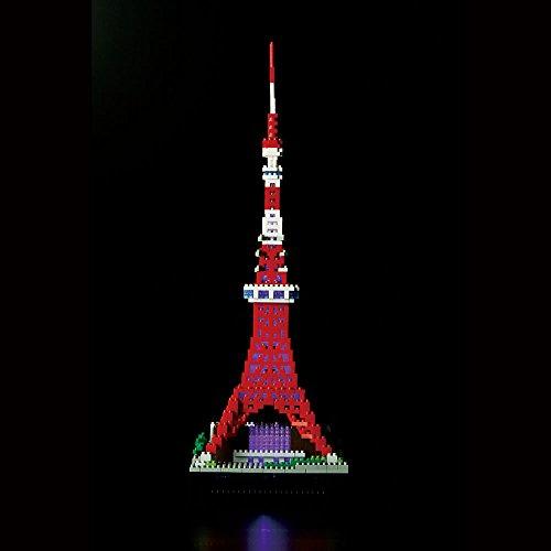 nanoblock Tokyo Tower Deluxe Edition NB-018 by Kawada (Image #9)
