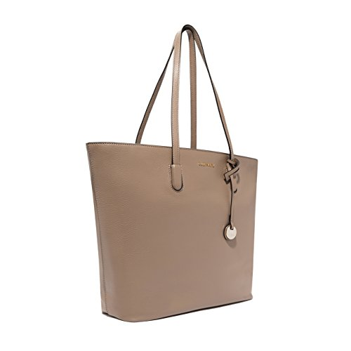 Coccinelle - Bolso de tela para mujer grey_taupe, beige