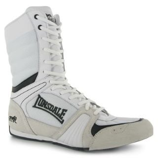 Lonsdale Cyclone Boxing Boots Mens White/Black 11 UK UK