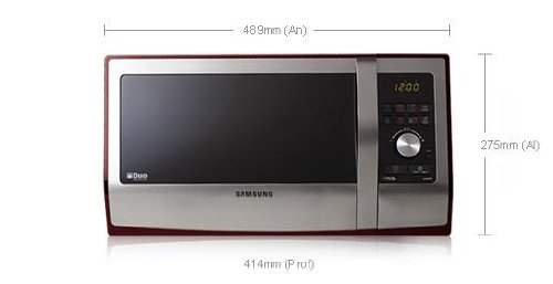 Microondas Samsung Ge89apst 23lt Grill Inoxidable Enamel ...