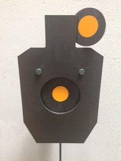 Multi-Purpuse IPSC 66% AR500 (Ar500 Reactive Targets)