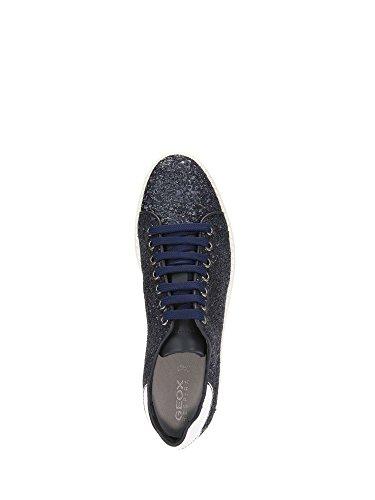 Bleu C Thymar Femme Geox Basses Sneakers UXBwwSx