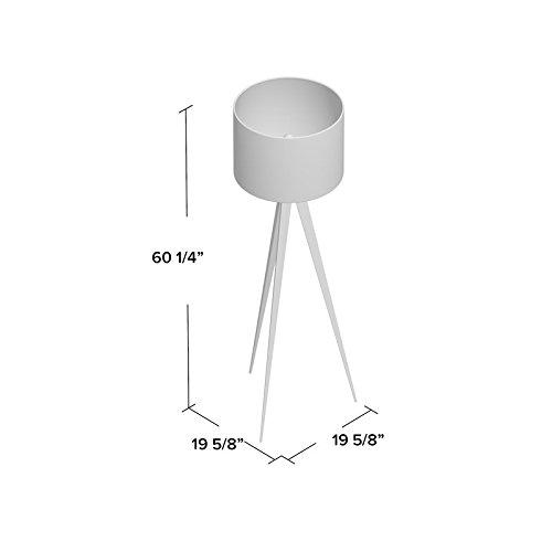 Versanora VN-L00007 Romanza Tripod Floor Lamp White