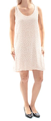 French Connection 298 Womens New 1200 Pink Floral Beaded Shift Dress 2 B+B (French Connection Beaded Dress)