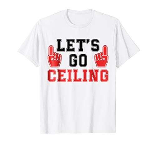 Let's Go Ceiling Fan Halloween Costume T-Shirt -