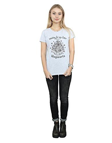 Femme Cult Harry lettera Hogwarts Sport Gris Potter T la mia Absolute shirt Aspettando wtpqgpd