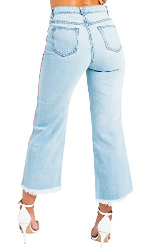 Rise Ray Jeans Mandy Womens Pattes Ikrush Pink Mid qwEIRxp