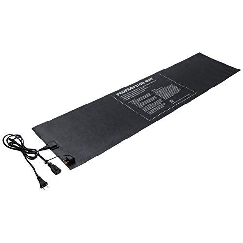Hydrofarm Propagation Heat Mat, 60 W, 12 x 48 Inch, Daisy Chainable,19007, 12